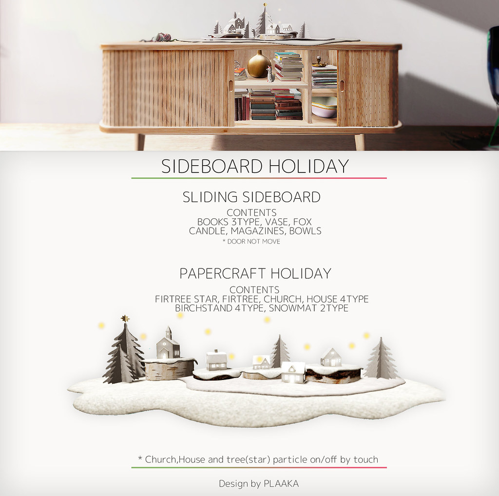 SIDEBOARD HOLIDAY