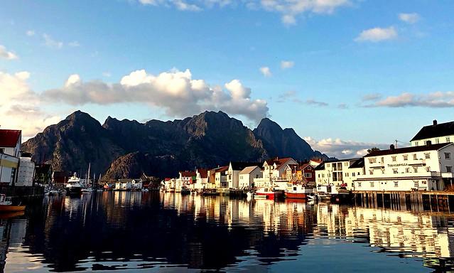 Hennigsvaer. Norway.