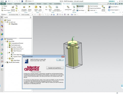 Working with Siemens Simcenter FloEFD 2019.3 full license
