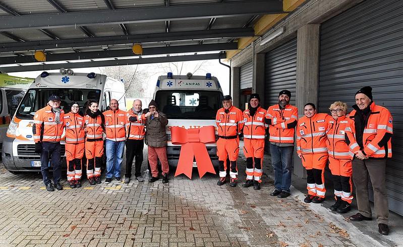 Da Trino al Congo: un'ambulanza Anpas per l'Africa