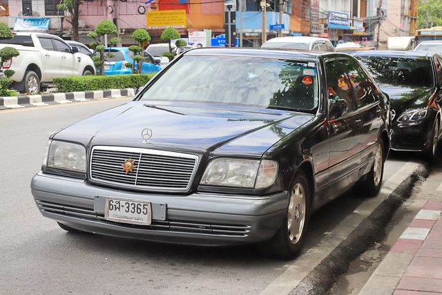 Mercedes-Benz W140 in Bangkok 11.9.2019 2356