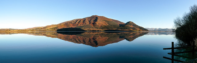Across Bassenthwaite to Long Side, Carl Side and Dodd