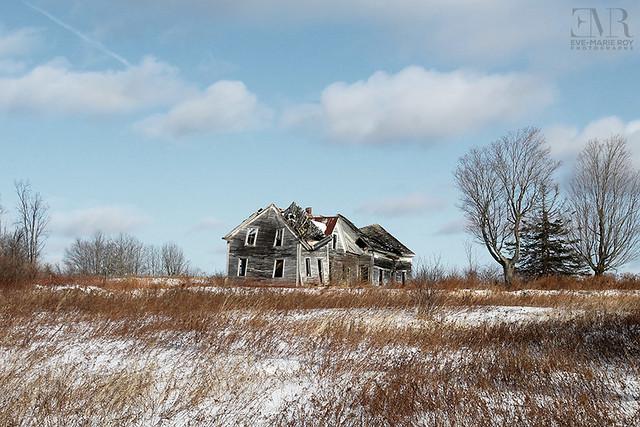 Maison abandonnée, La Célèbre - Beauté Figée fb & ig