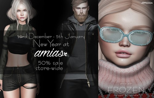 Amias Big Sale and Holiday Gift!