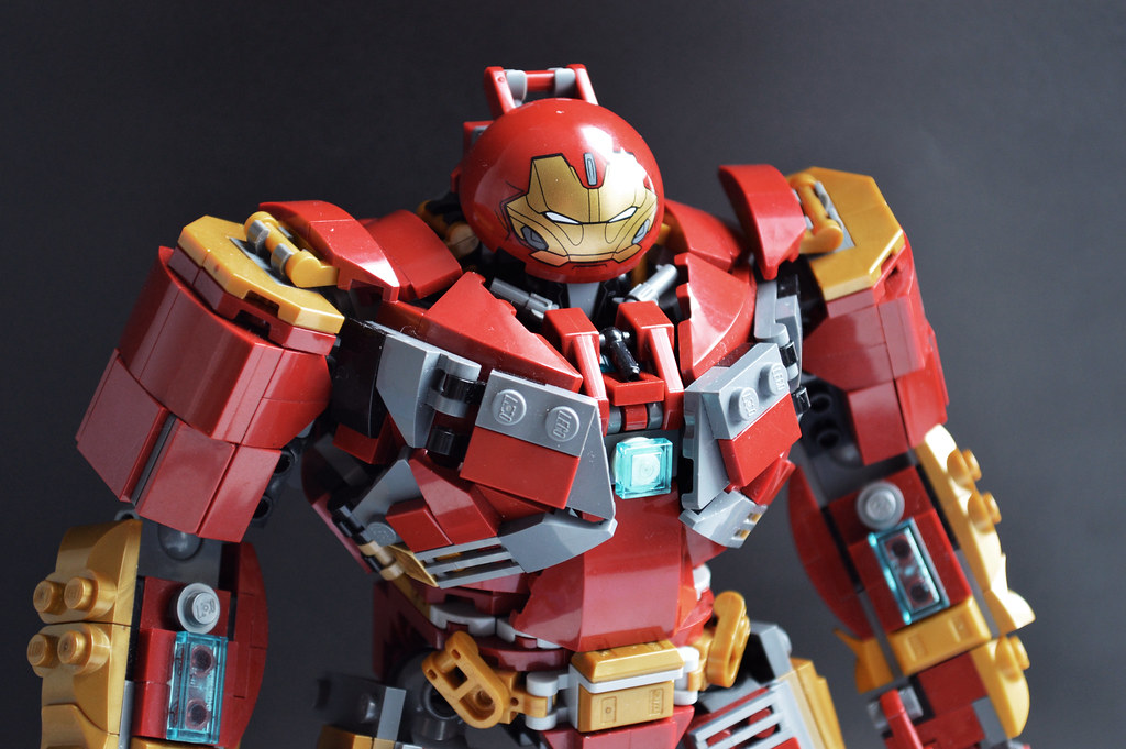Lego Infinity War Hulkbuster Mark 2 Moc