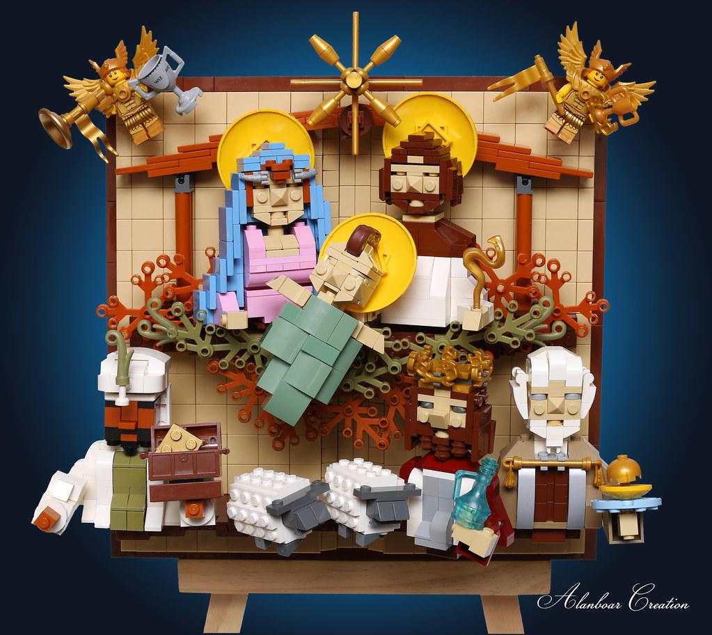 LEGO The Birth of Jesus 耶穌降生