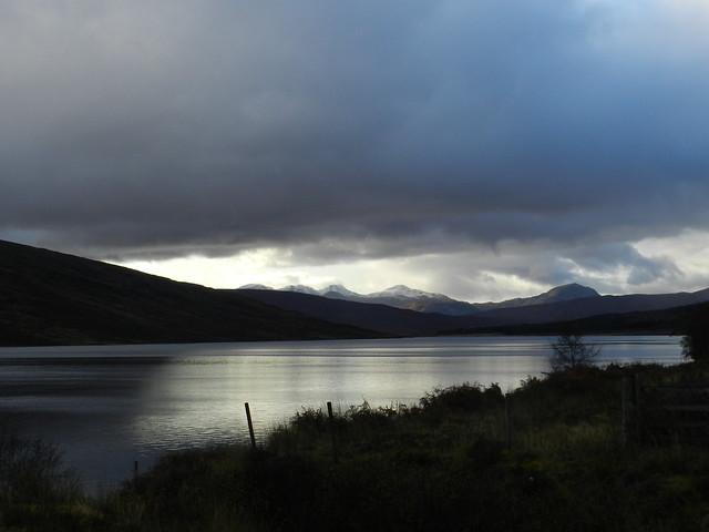 Last Light, Loch a'Chriosg, near Achnasheen, Nov 2019