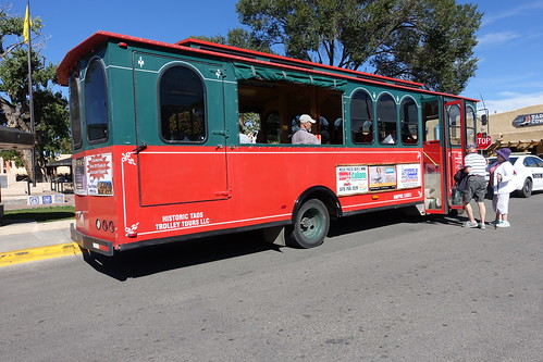 Taos Trolley. From History Comes Alive in Taos, New Mexico