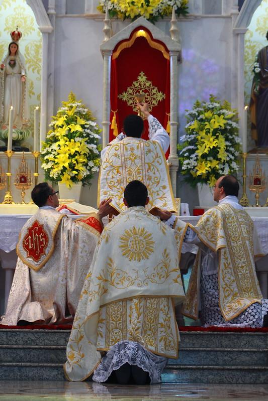 Primeira Missa solene, pe. Fabrício
