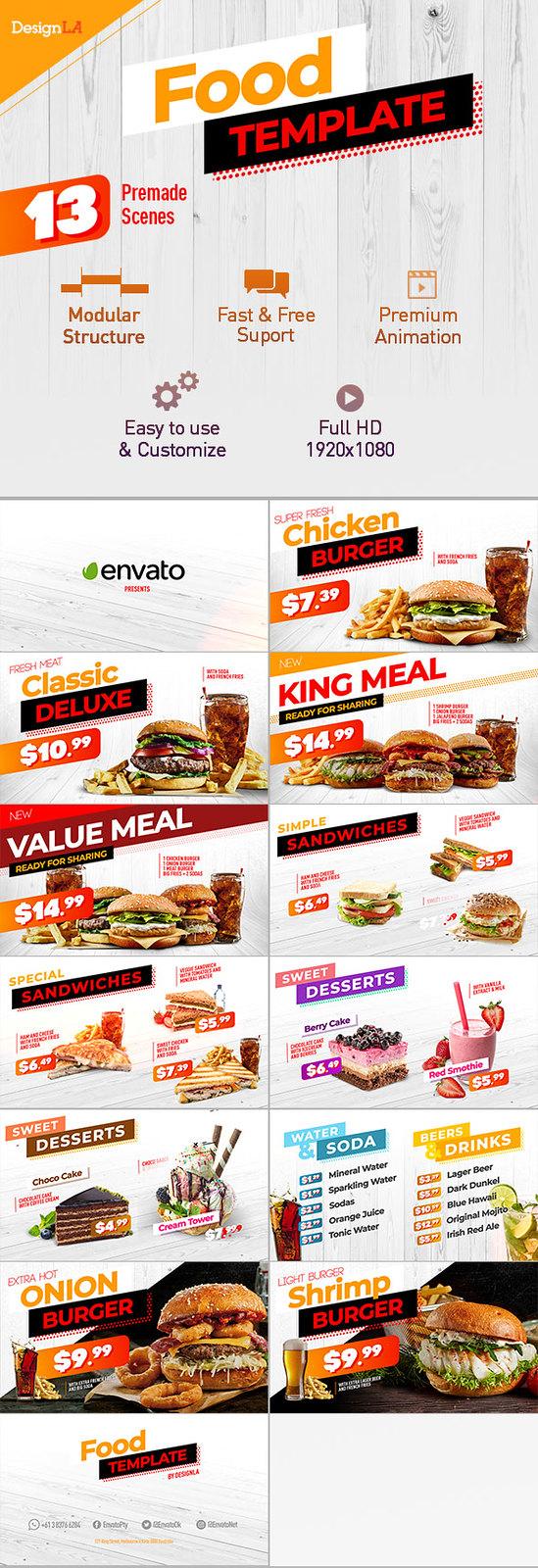 Food Menu Restaurant Promotion V2 - 1