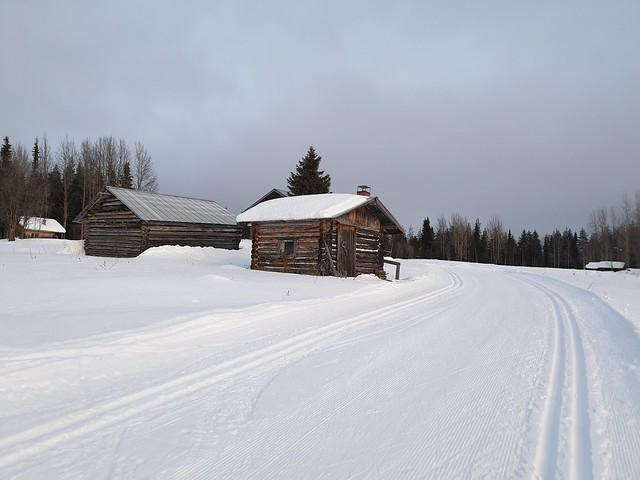 Levi Ski Tracks, Finland