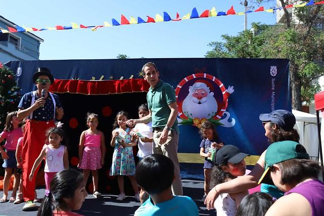 #EnTerreno : Fiesta de Navidad en Barrio Yungay