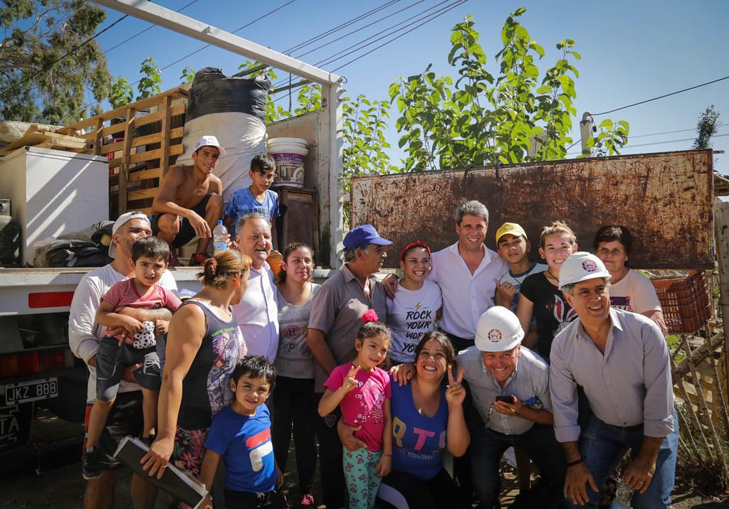 2019-12-23 PRENSA: Relocalización de Familias en el departamento Pocito