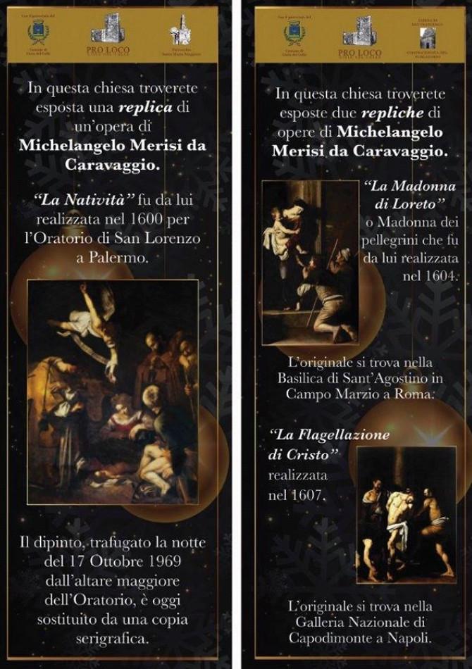 mostra opere caravaggio di F. Cazzolla