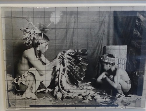 Couse's gelatin silver print of Ben Lujan and Joseph Sunhawk, c.1909. From History Comes Alive in Taos, New Mexico