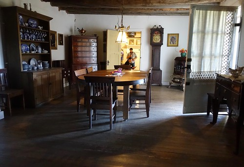 Inside Couse Dining Room. From History Comes Alive in Taos, New Mexico