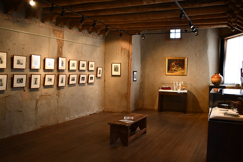 Inside Couse's Photographic Studio. From History Comes Alive in Taos, New Mexico