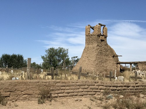 Pueblo Ruins of 3rd Church. From History Comes Alive in Taos, New Mexico