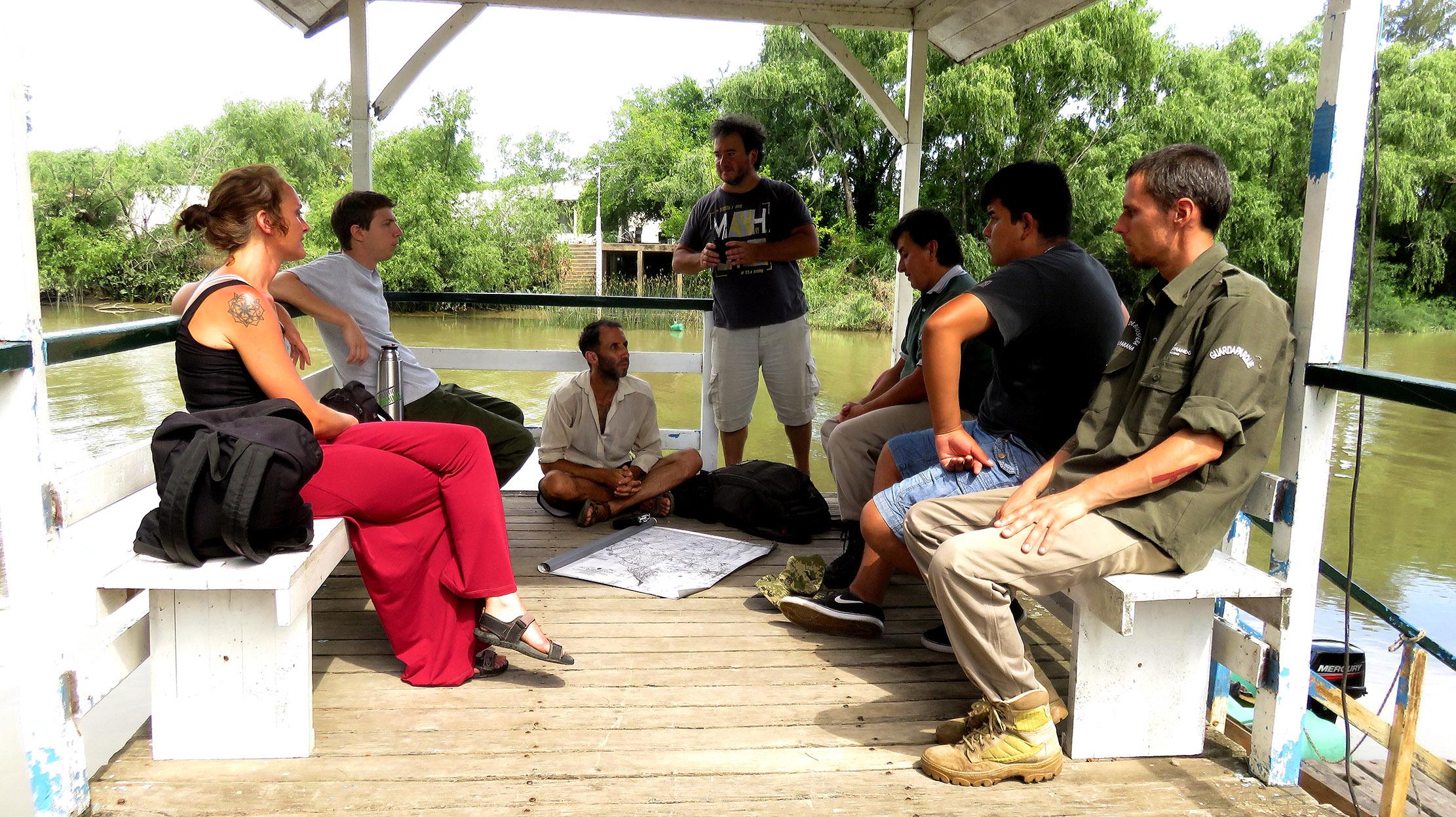 Encuentro en Reserva de Biosfera - San Fernando