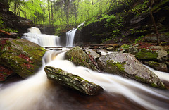 The X-Factor at R. B. Ricketts Falls, Ricketts Glen State Park