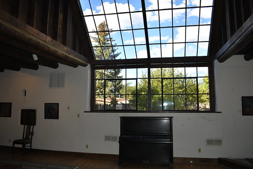 Fechin House Art Studio Windows. From History Comes Alive in Taos, New Mexico