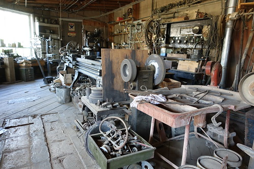 Couse Sharp Kibbey's invention room. From History Comes Alive in Taos, New Mexico