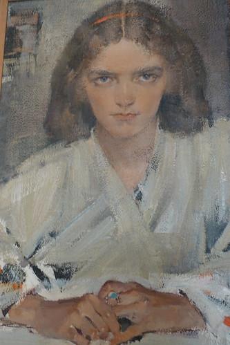 Fechin House Nicolai's Portrait of his daughter Aya