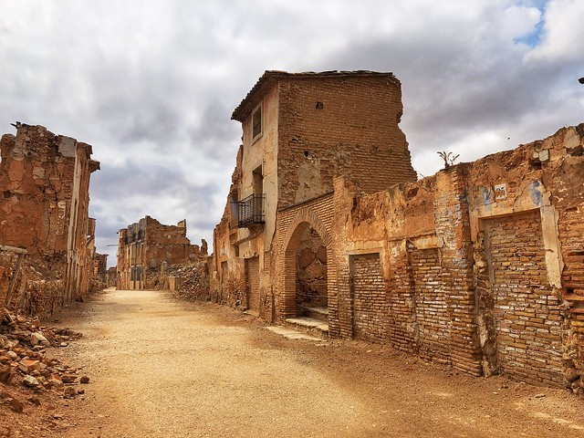 Calle Mayor (Belchite Viejo)