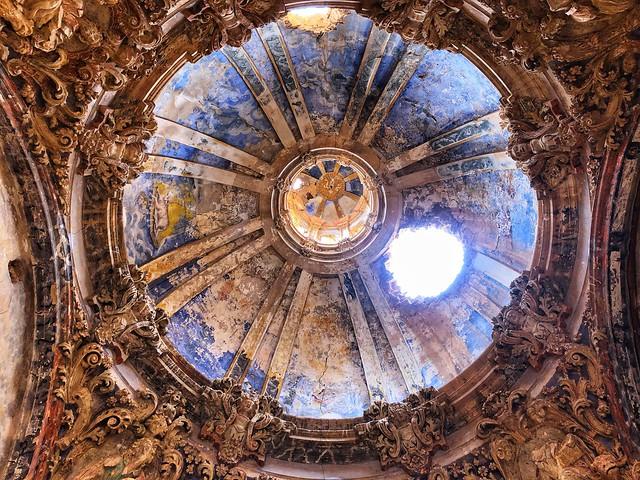 Cúpula de una capilla de San Martín de Tours (Belchite Viejo)