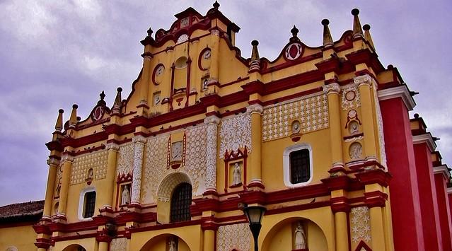 MEXICO, San Cristóbal de las Casas, Kathedrale , 19387/12204