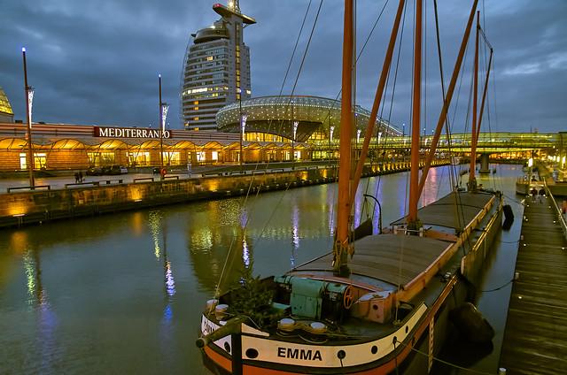 Der Alte Hafen in Bremerhaven
