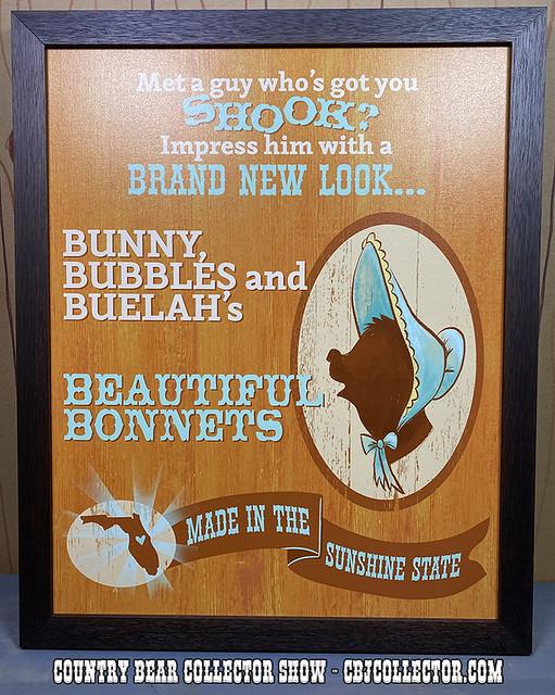 2019 Disney Springs Sun Bonnets Print - CBCS #236