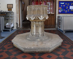font (15th Century with bits added on in 1870s)