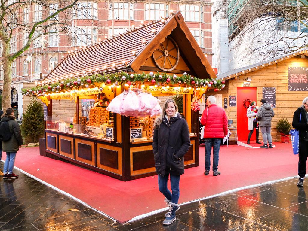 Mercadillo en Leicester Square