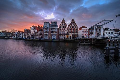 haarlem noordholland nederland kortespaarne sunrise cffaa