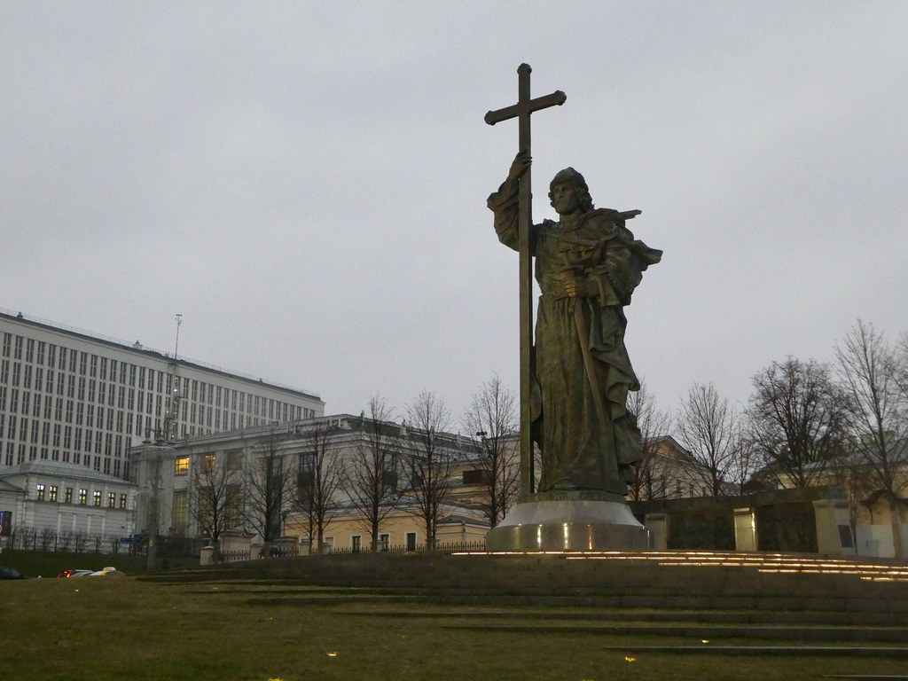 Statue of Prince Vladimir the Great, Moscow