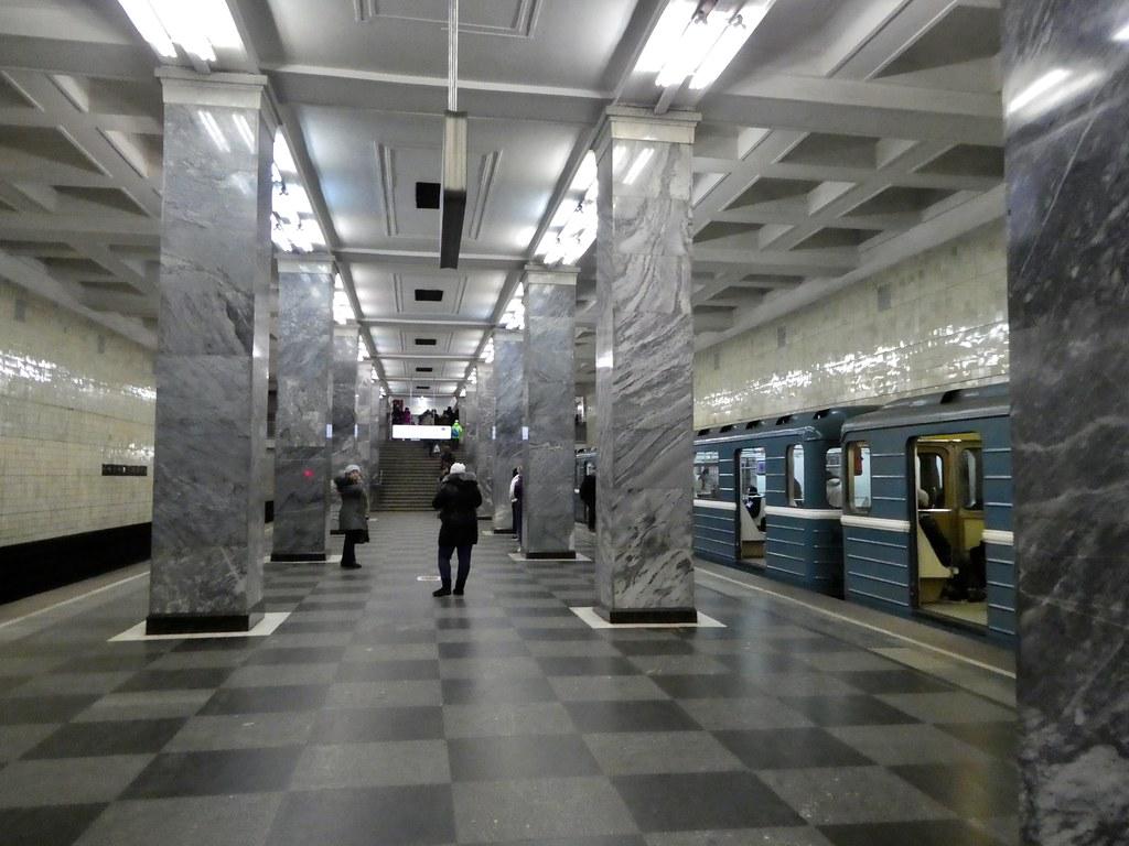 Sokolniki metro station Moscow