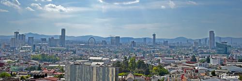 Puebla Skyline