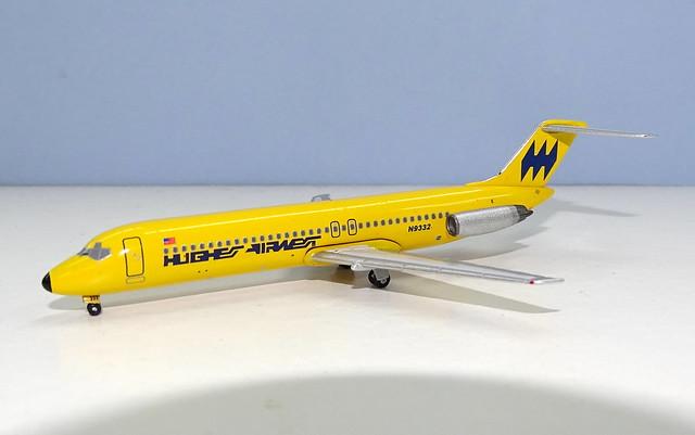 Hughes Airwest DC-9-31 N9332