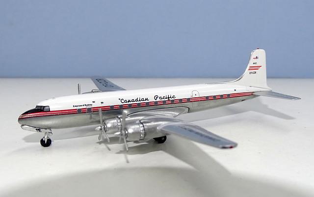 Canadian Pacific Douglas DC-6B CF-CZR