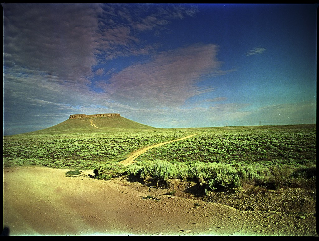 Pilot Butte, Wyoming   After a night nearby, the morning bro\u2026   Flickr