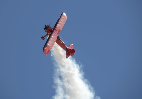 Stearman Ready to Tip Over