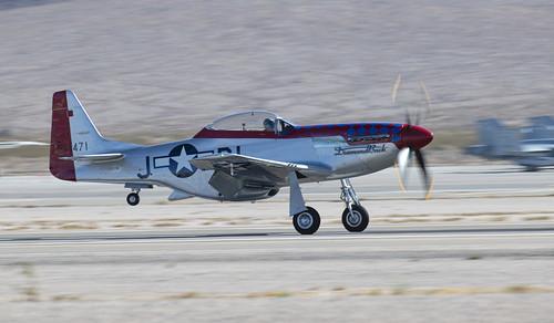P-51D Diamondback on Main Wheels