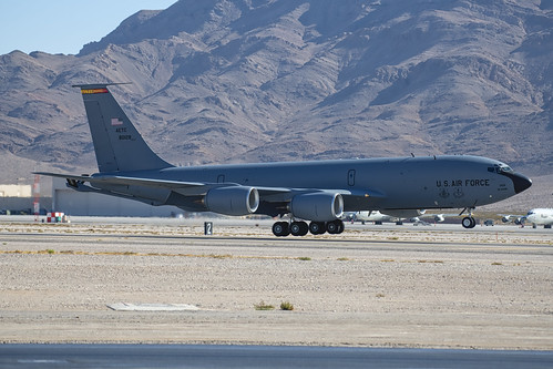 Boeing KC-135 Just About Down
