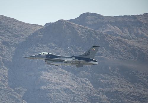 General Dynamics F-16 on Afterburner