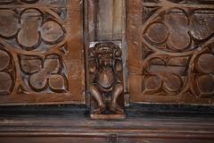 chancel roof figure