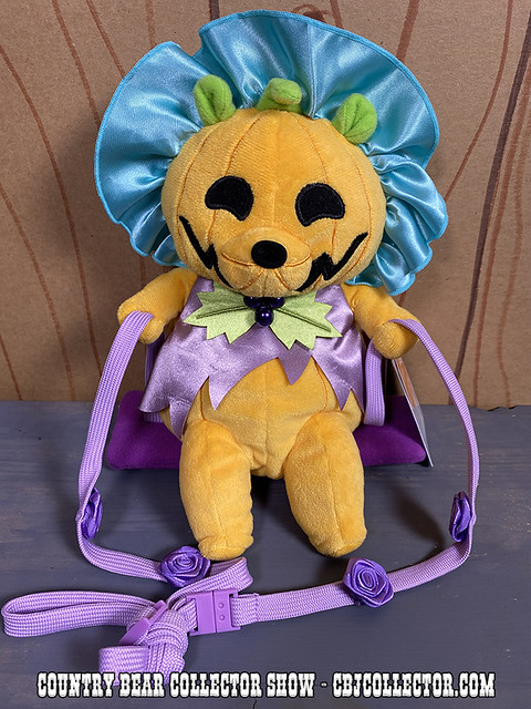2019 Tokyo Disneyland Halloween Teddi Barra Pumpkin Bag - CBCS #239