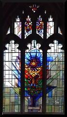 Belton memorial window by John O'Connor, 1988