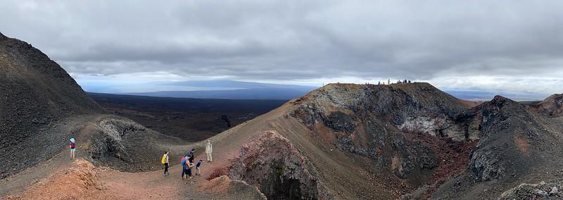 The Chico Volcano at 870 meters (2,854 ft) above sea level, Isla Isabela (Albemarle), the Galápagos Islands, Ecuador.