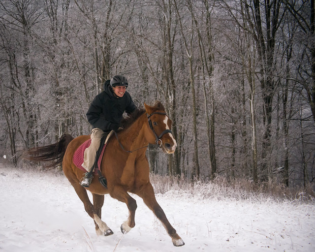 20191215 Snow Gallops_62